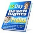 Thumbnail 15 Day Resell Rights Profits with MRR