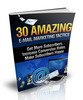 Thumbnail 30 Amazing E-mail Marketing Tactics with MRR