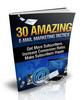 Thumbnail 30 Amazing E-mail Marketing Tactics with MRR