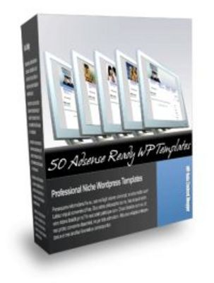 Product picture 50 Adsense Ready Wordpress WP Templates with MRR