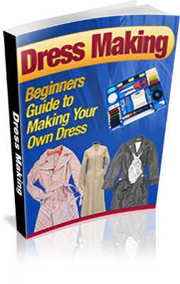 Product picture Dress Making: Beginners Guide includes PLR