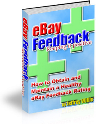 Product picture eBay Feedbak Keeping It Positive with Master Resale Rights