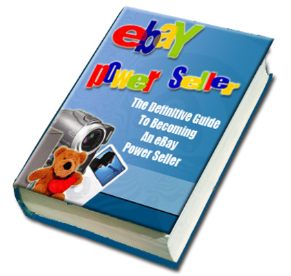 Product picture eBay Power Seller with Master Resale Rights