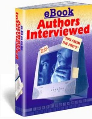 Product picture Ebook Authors Interviewed with Master Resale Rights