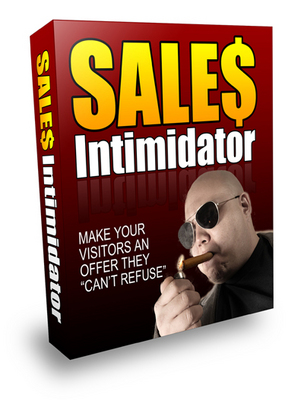 Product picture Sales Intimidator includes Private Label Rights
