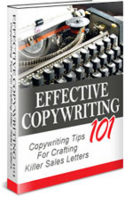 Product picture effective Copywriting 101 with Master Resale Rights