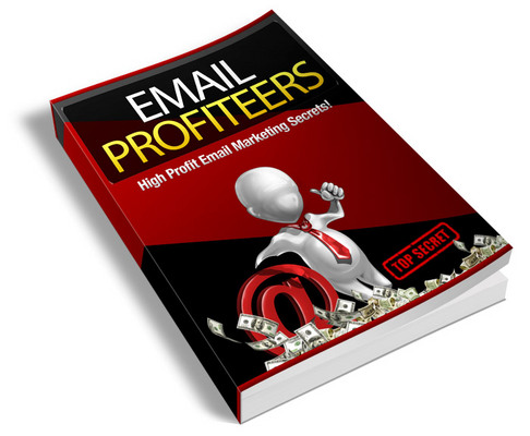 Product picture Email Profiteers includes Private Label Rights